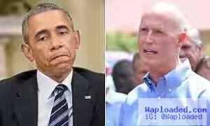 Florida Governor Says He Still Hasn
